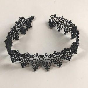 Zara baroque black choker